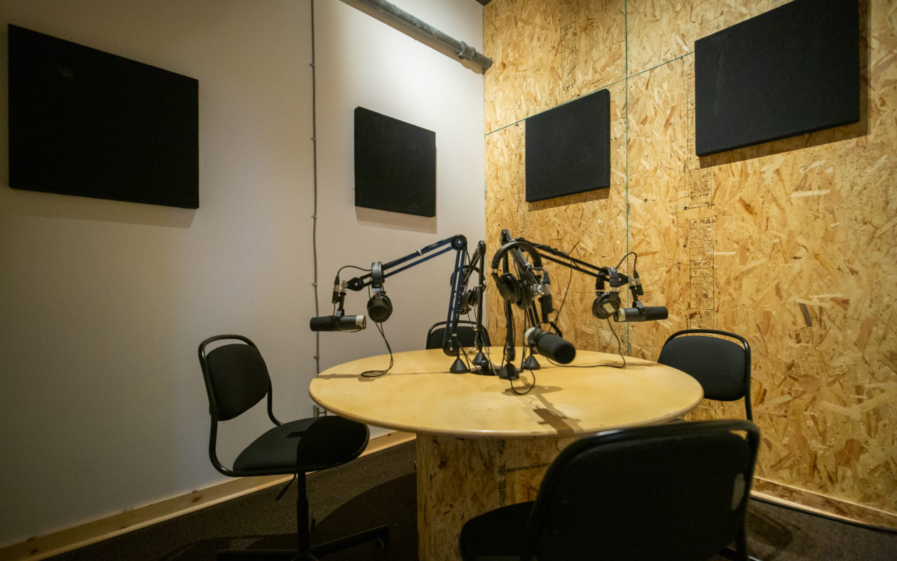 Pod Cast – Salle d'enregistrement